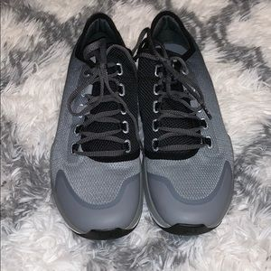 Gray-Black Under Armour Training Shoes